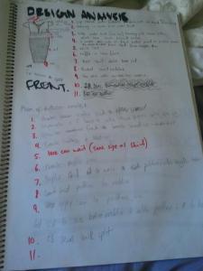 Design Analyis